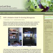 Template Redesign – Seed and Bean