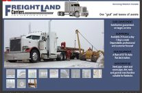 Website – Freightland Carriers Inc